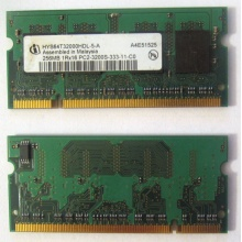 Модуль памяти для ноутбуков 256MB DDR2 SODIMM PC3200 (Фрязино)